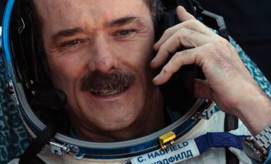 Former International Space Station Commander Chris Hadfield