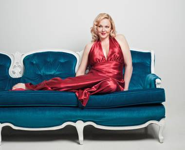 Q&A: Storm Large's act works with both punk-rock and symphonic audiences. She brings it to the Smith Center this weekend.