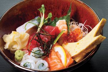 I-Naba's incredible chirashi bowl is just the beginning of Las Vegas' amazing Japanese food scene.