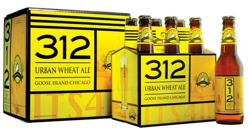 The Booze Blog: Goose Island's 312 series is a solid entry into the brand