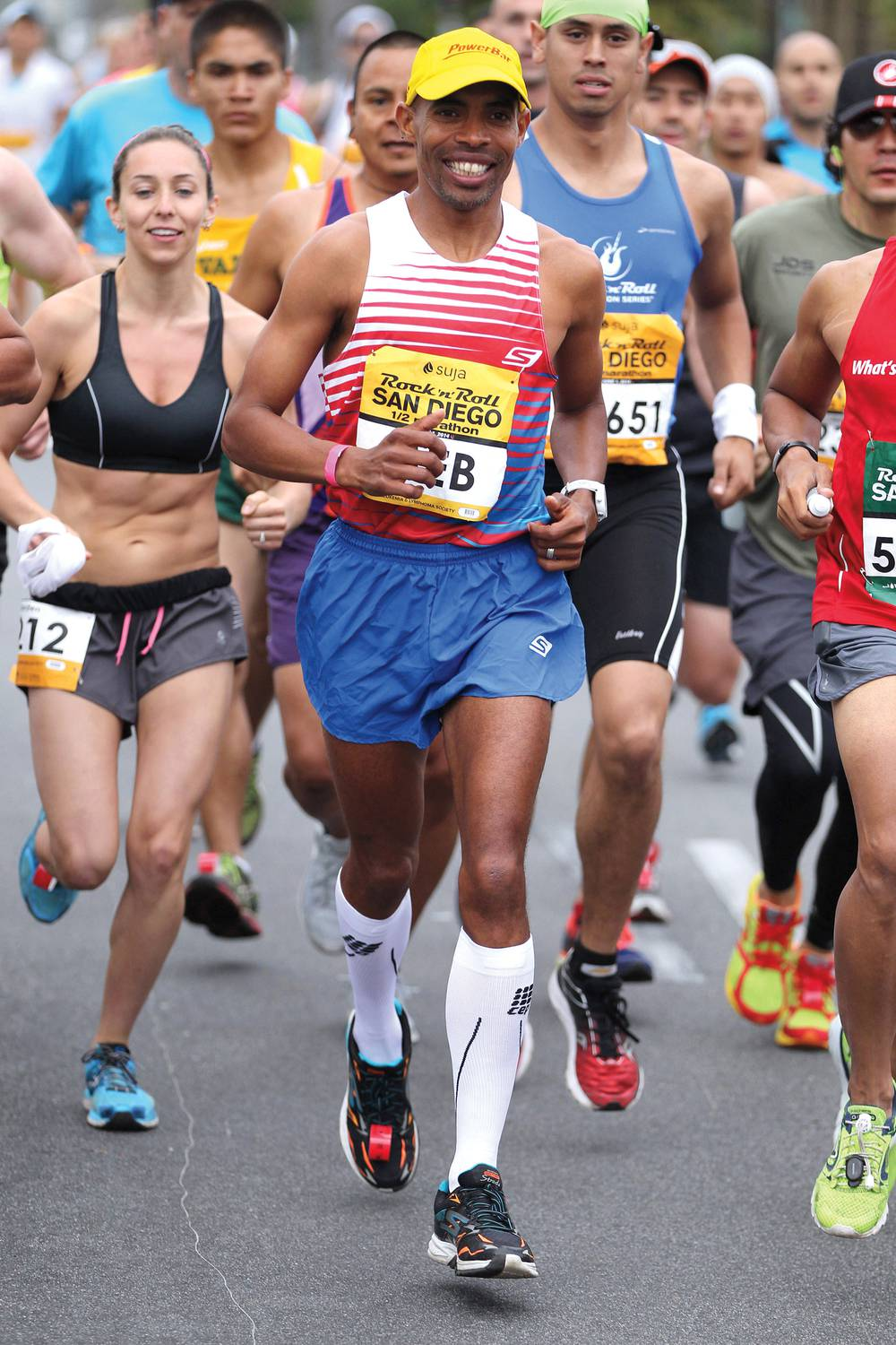 3845e143af1a0 Boston Marathon winner Meb Keflezighi heads to Vegas to run with the people