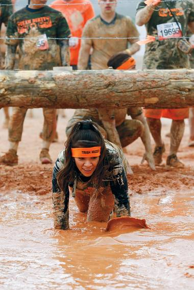 The World's Toughest Mudder hits Lake Las Vegas this weekend.