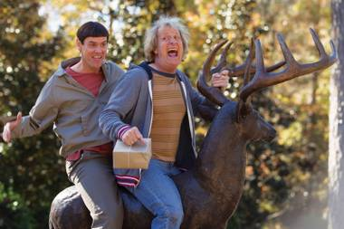 Dumb and Dumber To: A slapdash follow-up to an overrated sentimental favorite.