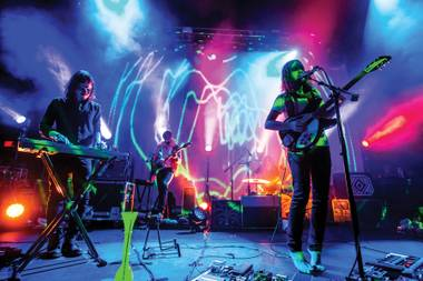 Tame Impala performs at Brooklyn Bowl.