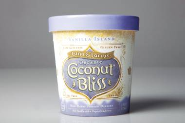 Coconut Bliss calls this flavor Vanilla Island, but it should be called Coconut Island. We'd still totally enjoy being marooned there.