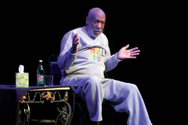 No laughing matter: Bill Cosby, a Strip regular for decades, won't be performing at TI this weekend after all.