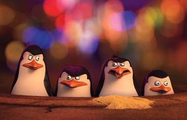 Too much of a good thing? The madcap adventures of Penguins of Madagascar's titular characters mostly just end up exhausting after 90 minutes.