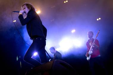 Refused, shown here performing at Denmark's Roskilde Festival in 2012, will headline a night of Punk Rock Bowling in May.