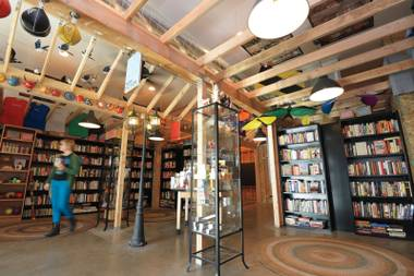 Downtown's new bookstore opened its doors last weekend.