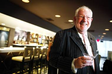 Oscar Goodman will be toasting to the Ruvo family and the Venetian restaurant this month.