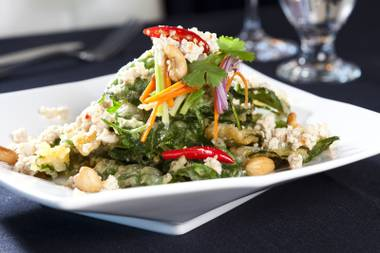 "We fell in love at first bite with Nittaya's ""world famous"" spinach salad, but it's only the Thai tip of a delicious iceberg at this tiny jewel of a restaurant."