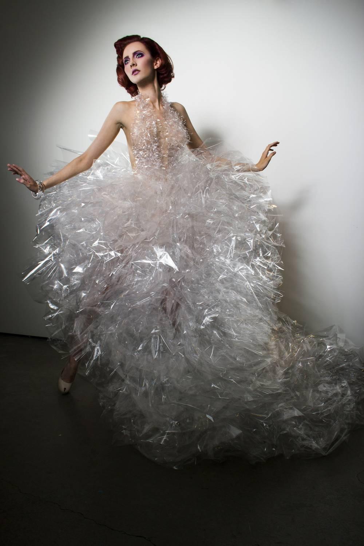 Plastic Fashion Dress