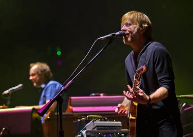 Phish at MGM Grand Garden Arena