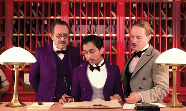 Wes Anderson's The Grand Budapast Hotel made Mike D'Angelo's film Top 10.