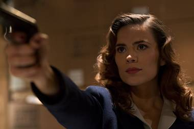 Hayley Atwell gets her spy on as Agent Carter.