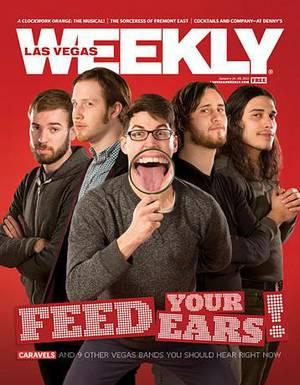 Caravels on the January 24, 2013 cover of <em>Weekly</em>.