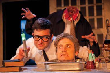 "Getting a head: Re-Animator the Musical promises scares, laughs … and a ""Splash Zone."""