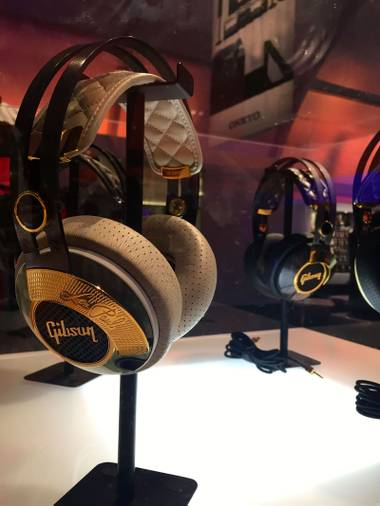 Headphones are big at CES this year.