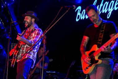 Backstage Bar & Billiards hosted a country-punk jam on January 15.