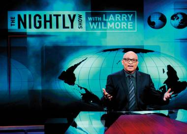 Wilmore is a confident host, funny and engaged with the subject matter.
