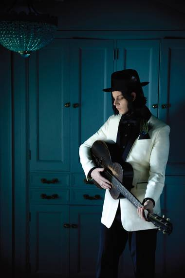 Jack White plays Brooklyn Bowl February 4.