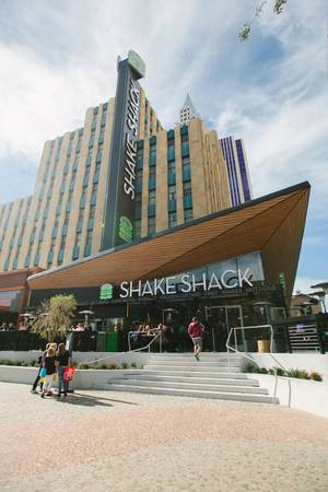 The new Shake Shack at New York-New York.