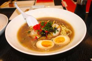 <em>Tonkotsu</em> ramen at 8 Noodle Bar.