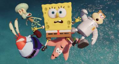 Kids, parents and stoners ... there's something for everyone in Sponge Out of Water.