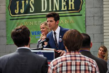 Goodbye Pawnee: The era of Leslie Knope, Ben Wyatt and company comes to a close.
