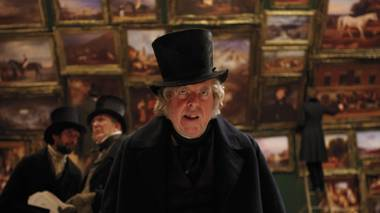 Timothy Spall gives depth and feeling to J.M.W. Turner at the most unexpected moments.