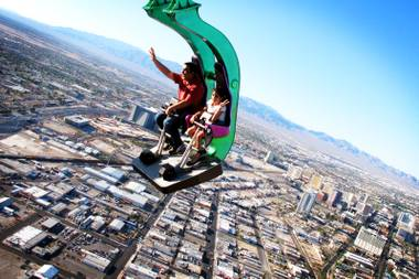 Insanity the Ride at Stratosphere