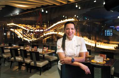 Hell's Kitchen winner Christina Wilson moved from Gordon Ramsay Steak to BurGR last year.