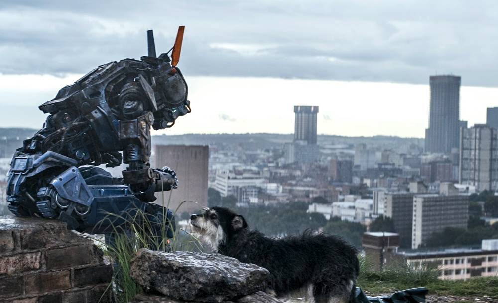Film Review Chappie Is A Muddled Sci Fi Failure Las