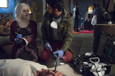 In iZombie, an undead undead star uses her brain.