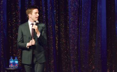Captivating the audience, the comic showed off an array of skills during his Las Vegas debut.