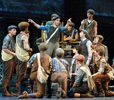 Newsies is at the Smith Center March 17-22.