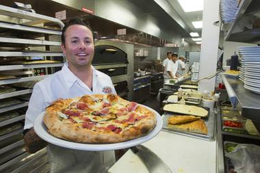 Tony Gemignani's Pizza Rock opens its second location at Green Valley Ranch Resort this week.