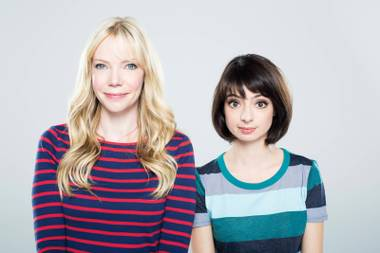 Sing it out: Garfunkel & Oates get that pregnant women are smug, and that puppets always understand.