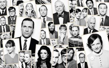 Mad memories: The stars of Mad Men prepare to say goodbye.