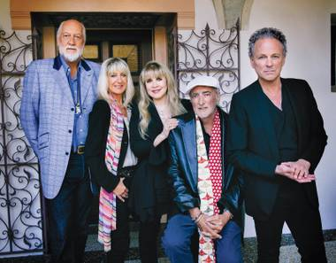 Fleetwood Mac plays MGM Grand Garden Arena Saturday night.
