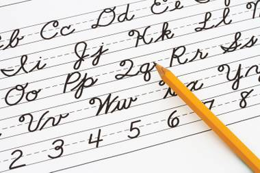 Do you remember how to write a Q in cursive? Neither do we.