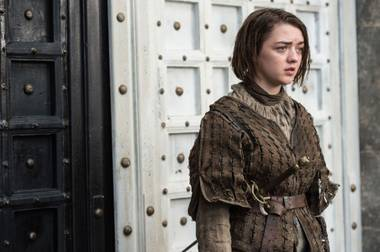 Arya is on the verge of awesomeness.