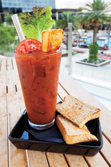 Hash House A Go Go takes garnishes seriously.