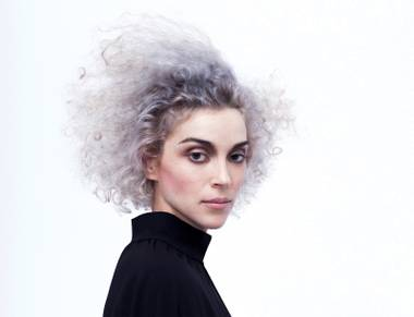 Annie Clark talks riding bicycles with David Byrne, Popeye and pizza as music.