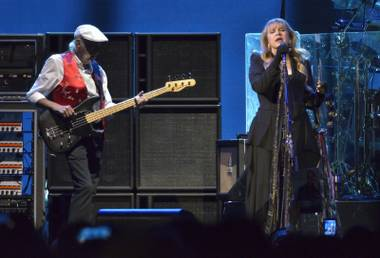 Having Christine McVie back after a 16-year hiatus seems to have reinvigorated the group.
