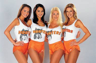 The world's largest Hooters will open at Palms before spring is over.