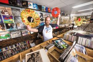 "On the rise: Moondog Records owner Clint McKean says ""it'll take time"" for Vegas to become known for its vinyl."