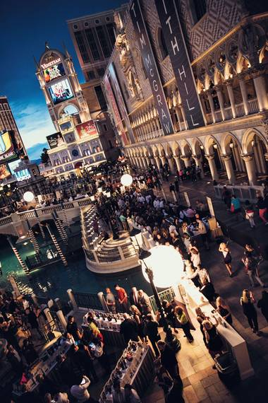 UNLVino's Bubble-Licious event returns to Venetian this year.