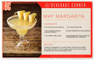 This margarita was made for Cinco de Mayo sippin'.