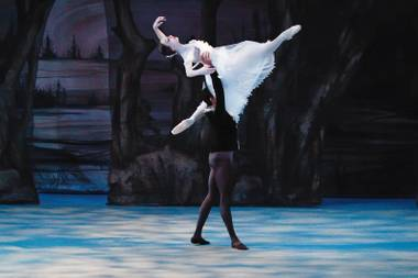 Nevada Ballet Theatre puts on the story ballet for its final performance of the season.